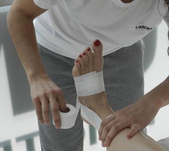 Vendaje Funcional Umana Fisioterapia y Osteopatia